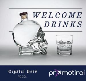 Промоция на водка Crystal Head